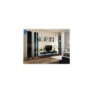 216 offres meuble tv noir mat surveillez les prix sur le web. Black Bedroom Furniture Sets. Home Design Ideas
