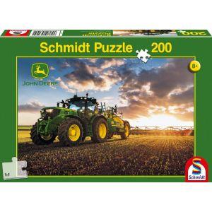 Schmidt Tracteur 6150r avec tonne à lisier - Puzzle classique 200 pièces