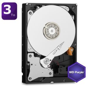 "Western Digital WD30PURX - Disque dur interne Purple 3 To 3.5"" SATA III"