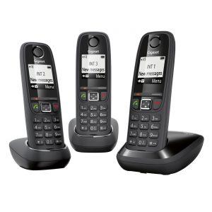 Gigaset AS405 Trio - Téléphone sans fil