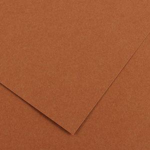Canson 200040386 - Feuille Iris Vivaldi 50x65 240g/m², coloris noisette 33