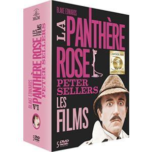 Coffret La Panthère Rose - La Panthère Rose + Quand l'inspecteur s'emmèle + Quand la Panthère Rose s'emmèle + La malédiction de la Panthère Rose + A la recherche de la Panthère Rose