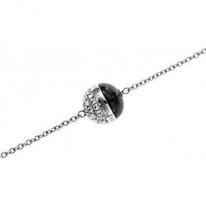 Cerruti R51383NZ - Bracelet empierré argenté pour femme
