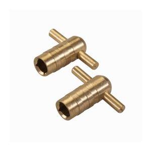 Silverline 427586 - 2 clés de vidange pour radiateur - 2 clés