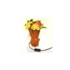 B.E.C. Lampe rond Bouquet de 10 roses lumineuses