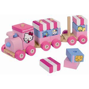 Eichhorn Train en bois Hello Kitty