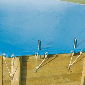 Bache hivernage piscine ronde comparer 90 offres - Bache piscine hors sol ronde ...