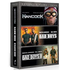 Coffret Will Smith - Hancock + Bad boys + Bad boys 2