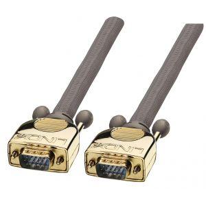 Lindy 37826 - Câble VGA GOLD M/M 30m