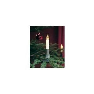 Konstsmide Guirlande de sapin ampoules bougies (prise divisible 25)