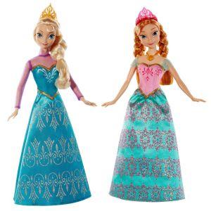 Mattel Coffret poupées  Anna Et Elsa La Reine des Neiges
