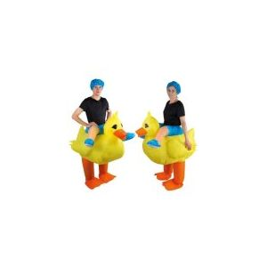 Ptit Clown RE90427 - Costume adulte gonflable de canard