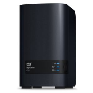 Western Digital WDBVKW0080JCH - Serveur NAS My Cloud EX2 8 To 2 baies Ethernet