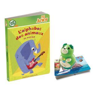 Leapfrog Livre Tag Junior : L'alphabet des animaux en musique