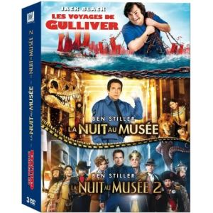 Coffret Les Voyages de Gulliver + La nuit au musée 1 et 2