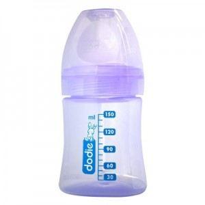 Dodie Biberon Initiation+ en poypropylène 150 ml avec tétine Easy Air en silicone débit 1 (0-6 mois)