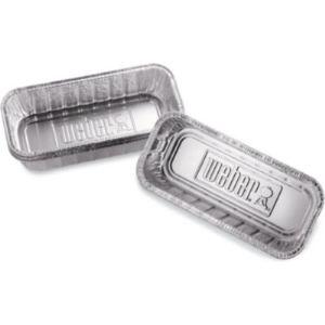 Weber 6417 - Petites barquettes en aluminium pour Summit