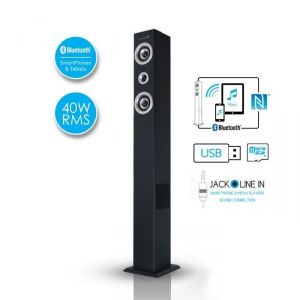 achat soundvision soundtower sx enceinte colonne bluetooth nfc. Black Bedroom Furniture Sets. Home Design Ideas