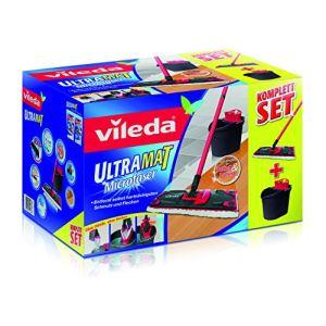 Vileda Kit de nettoyage complet UltraMat (seau, housse et manche)