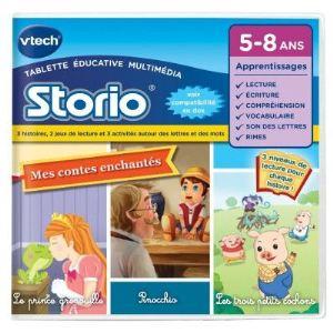 Vtech Jeu Storio Mes contes enchantés