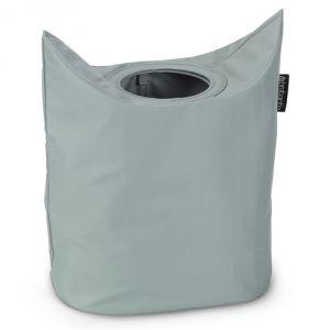 Brabantia Cool Grey - Sac à linge ovale (50 L)