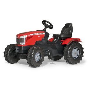 Rolly Toys Tracteur à pédales Massey Ferguson 8650