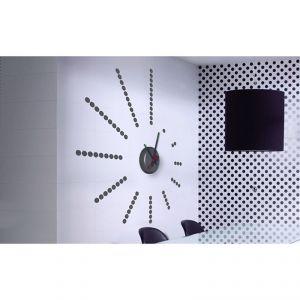 Horloge murale sticker Design Infini