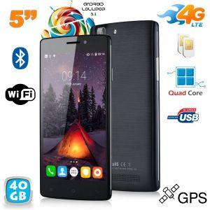 Yonis Y-sa64g40 - Smartphone 4G Android 5.1 Dual SIM 8 Go + carte 32 Go