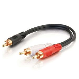 C2g 80140  - Adaptateur audio RCA (M) vers RCA (M)