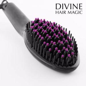 Brushture - Brosse lissante électrique Divine Hair Magic
