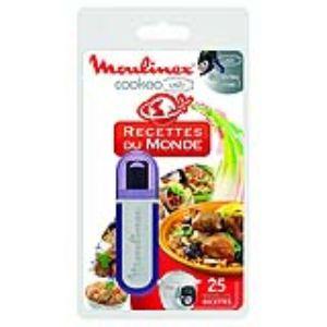 Moulinex XA600100 - Clef USB avec 25 recettes du monde pour multicuiseur