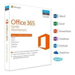 Office 365 Famille pour Windows