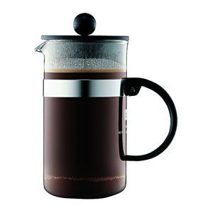 Bodum 1573-01 - Cafetière à piston Bistro Nouveau (3 tasses)