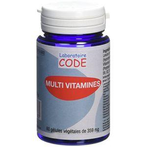 Laboratoire CODE Multi Vitamines - 60 gélules