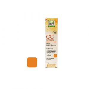 So'Bio Étic CC cream lait d'ânesse teinte abricotée