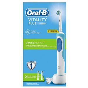 oral b vitality plus crossaction brosse dents. Black Bedroom Furniture Sets. Home Design Ideas