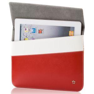 Issentiel Pochette en cuir ultra mince pour iPad 2