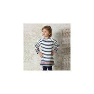 Petit Bateau Robe tricot manches longues (36 mois)