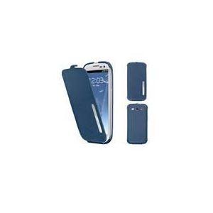 Muvit MCLT088KBL - Housse à clapet pour Samsung Galaxy S3