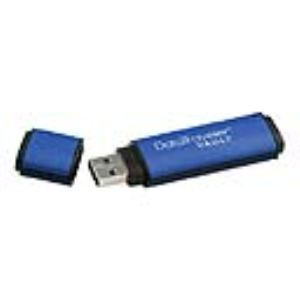 Kingston DTVP/16GB - Clé USB 2.0 DataTraveler Vault Privacy Edition 16 Go avec cryptage AES