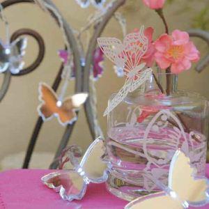 Blachère illumination Guirlande Led Papillons miroir