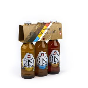 Brasseurs savoyards Pack Dégustation Bières Bio 3x33cl