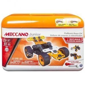 Meccano 6027720 - Junior : Mallette voiture à rétro friction