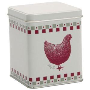 Quid Boîte à thé carrée Gallina (250 g)