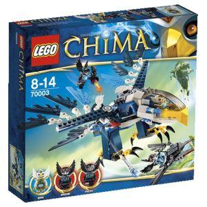 Lego 70003 - Legends of Chima : L'intercepteur Aigle d'Eris