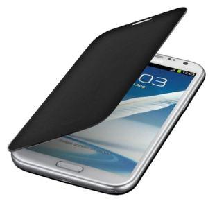 Kwmobile 14739 - Etui de protection à rabat pour Samsung Galaxy Note 2 N7100