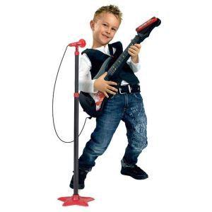 Simba Toys Guitare MMW avec micro sur pied