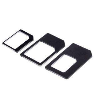 Cabling Adaptateur SIM Nano /Micro /Standard pour les téléphones portables comme iPhone4/4S/5 et Samsung Galaxy S3