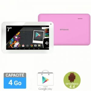"Polaroid Infinite 7"" 4 Go - Tablette tactile sous Android 4.4 KitKat"