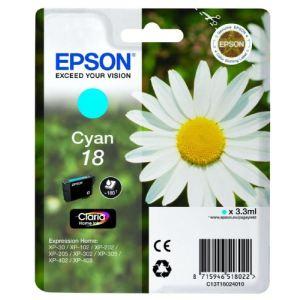Epson T1802 - Cartouche d'encre n°18 cyan
